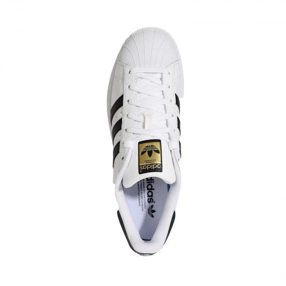 کفش اسپرت سفید مشکی برند ادیداس superstar