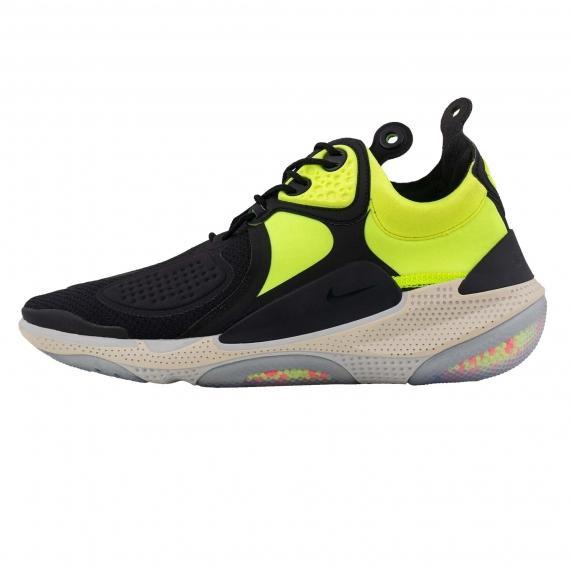 کفش اسپرت ورزشی جدید نایک جوی راید مردانه زنانه لیمویی و مشکی مدل Nike joyride CC3 AT6395 002