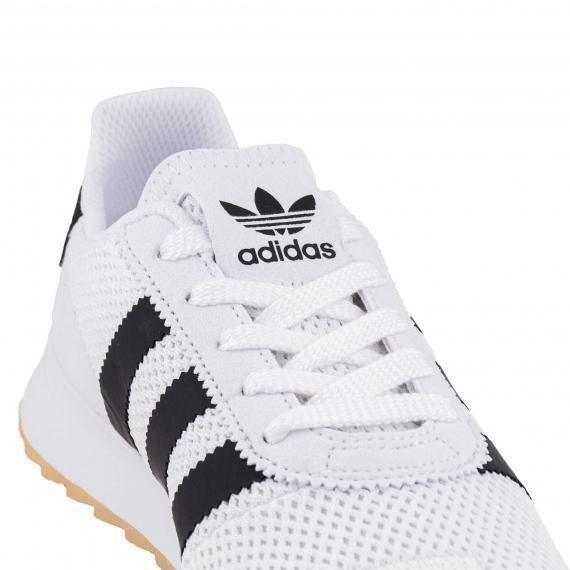 جدیدترین کفش اسپرت سفید آدیداس فلش بک مردانه و زنانه راحت فلش بک مدل BA7760