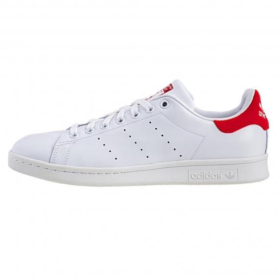 کفش اسپرت کلاسیک پسرانه و دخترانه آدیداس استن اسمیت جدید مخصوص تنیس و پیادهروی مدل BZ0482