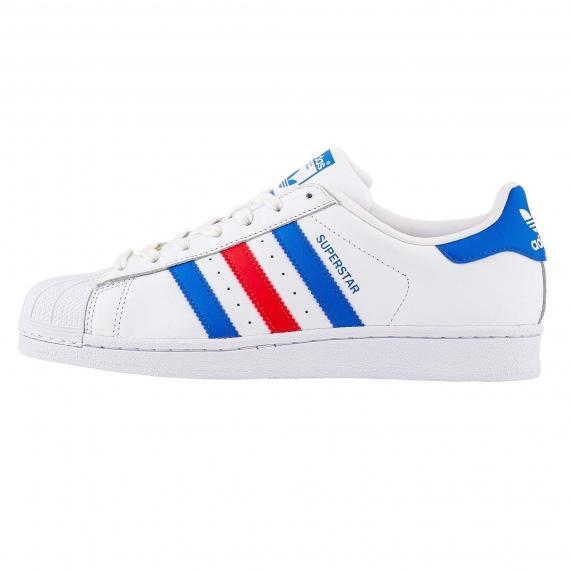 کفش اسپرت کلاسیک پسرانه و دخترانه آدیداس سوپراستار مخصوص ورزش و پیادهروی مدل Adidas Superstar BB2246