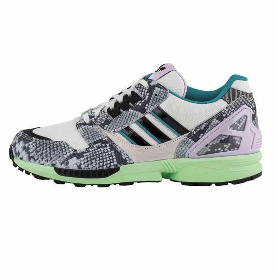 کفش اسپرت مردانه و پسرانه مخصوص ورزش و پیادهروی روزمره آدیداس زد ایکس 8000 مدل FW2152