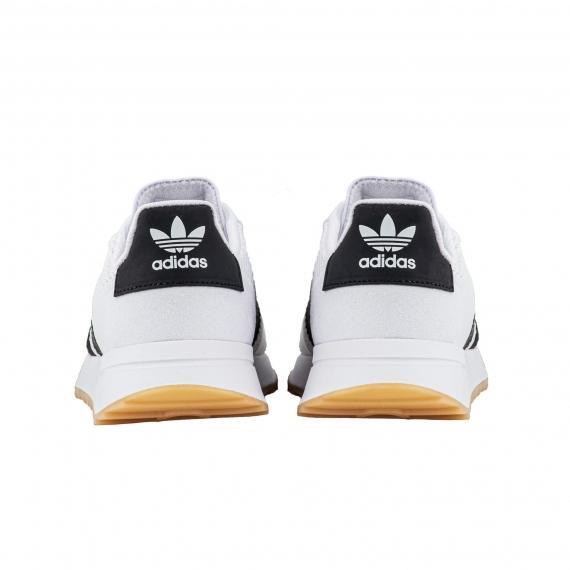 ثبت سفارش کفش آدیداس فلش بک سفید مشکی رنگ BA7760 کلاسیک، اورجینال پل