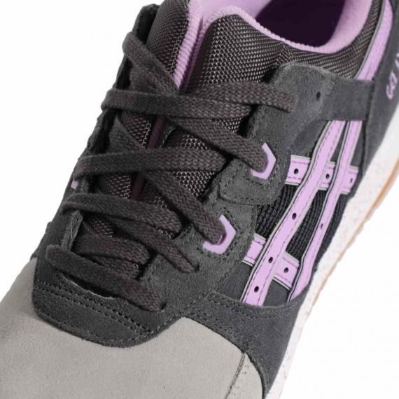 قیمت کفش مخصوص رانینگ پسرانه مردانه راحت و سبک اسیکس اصلی بنددار طوسی رنگ مدل ژل لایت H572L 1635