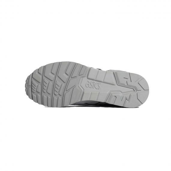 کفش زیره طبی طوسی رنگ بند دار ژل لایت وی مردانه و زنانه مخصوص دویدن و رانینگ برند تایگر اسیکس