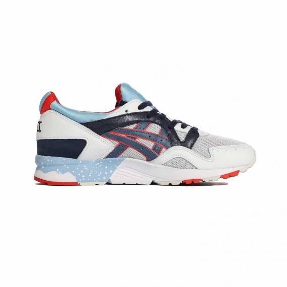کفش راحتی روزمره مردانه زنانه ژل لایت 5 بند دار هفت رنگ برند اسیکس مدل H5Y1L 1050