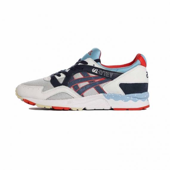 کفش هفت رنگ اسیکس زنانه و مردانه مخصوص ورزش پیاده روی و والیبال و طبیعت گردی ژل لایت مدلH5Y1L 1050