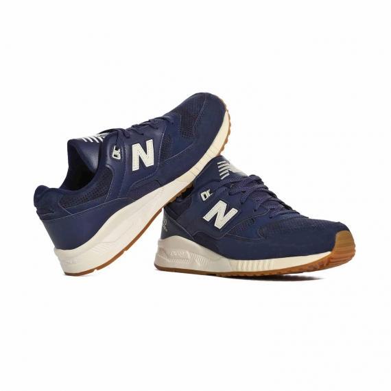 خرید ارزان کفش و کتونی ورزشی پسرانه و دخترانه نیو بالانس M530AAE مخصوص پیاده روی طولانی و دویدن بند دار سورمهای رنگ