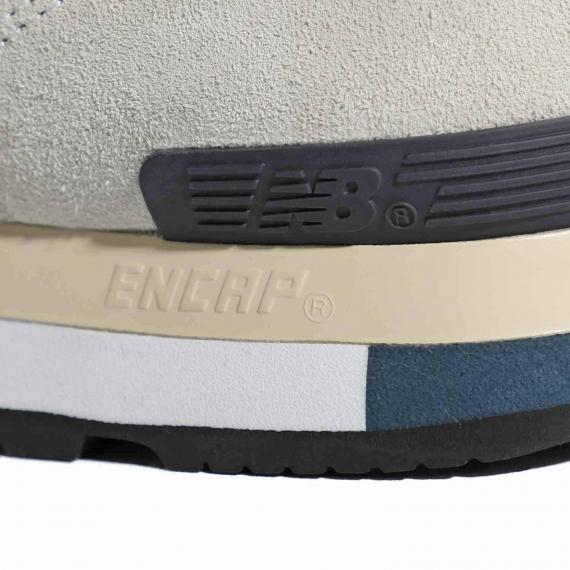 فناوری انکپ (Encap) در کفش نیوبالانس حک شده بر لایه میانی برای افزایش نرمی و راحتی کتانی ورزشی