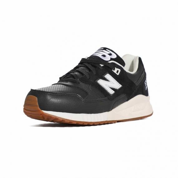 کتونی نیو بالانس اصل مخصوص فیتنس و بدنسازی برای ورزشهای سنگین از نمای 3رخ جلوی کفش