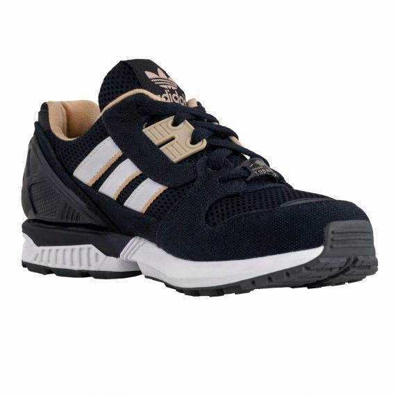 خرید اینترنتی کفش مخصوص پیاده روی مردانه و زنانه آدیداس زدایکس 8000 مشکی قهوهای