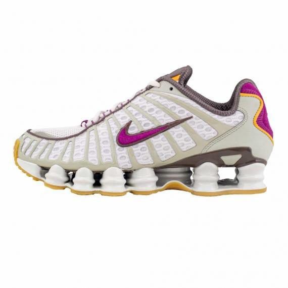 جدیدترین کفش اسپرت مردانه پسرانه نایک شاکس اصل مدل Nike US8.5 Shox TL Viotech C17691 001