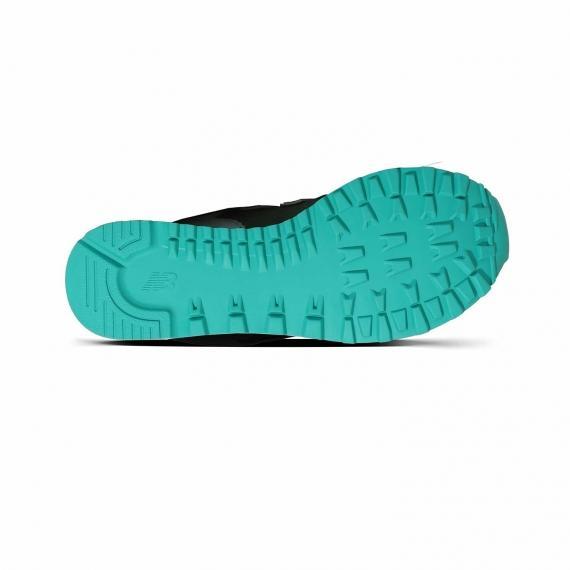 زیره طبی کفش پیاده روی زنانه از جنس لاستیک فیروزه ای رنگ دارای عاج و شیار متعدد برای سالن و باشگاه