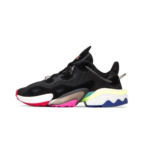 کفش اسپرت آدیداس اصل مشکی زنانه و مردانه مخصوص بدنسازی و فیتنس Adidas torsion x EE4884