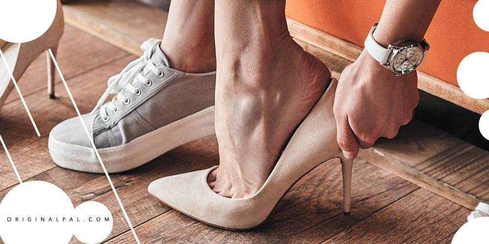 تاثیر کفش پاشنه بلند در درد کمر و ستون فقرات