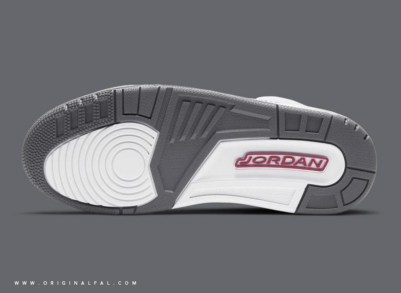 کفش اسپرت مردانه ایر جردن 3 مدل CT8532-012