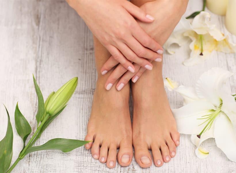 پای سالم بدون قارچ و بیماریهای پوستی