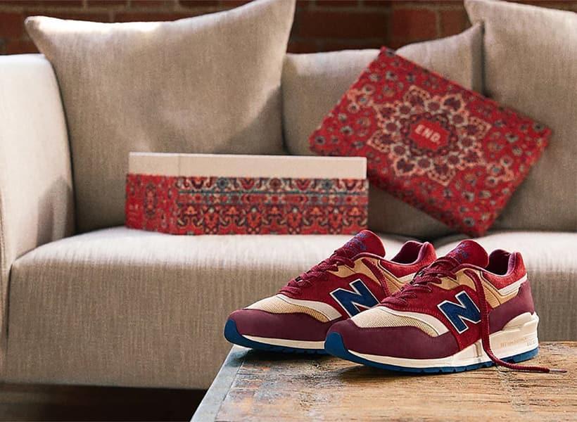 کفش نیو بالانس 997 با رنگ بندی قالی