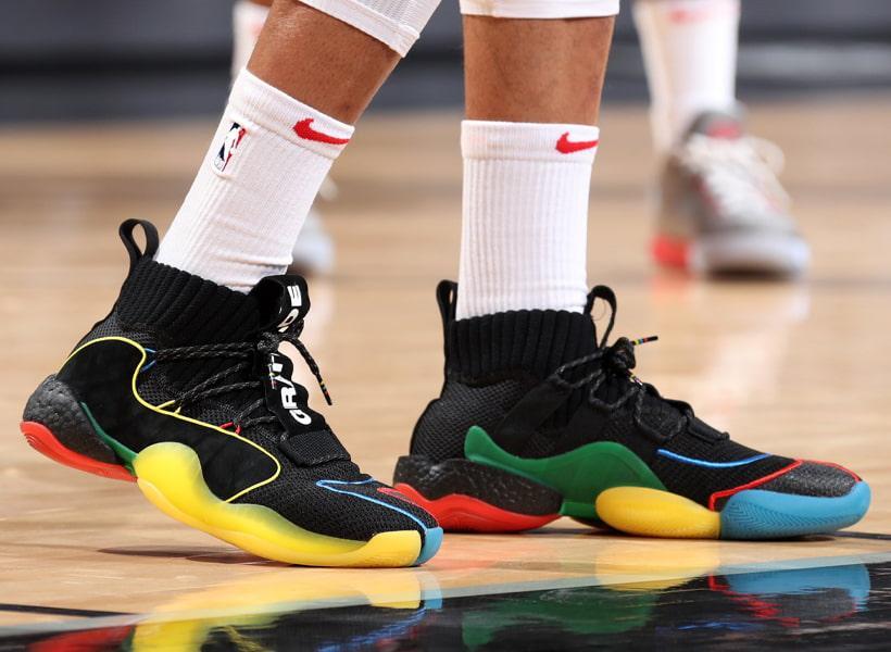 کفش بکستبالی ادیداس در مسابقات معتبر NBA