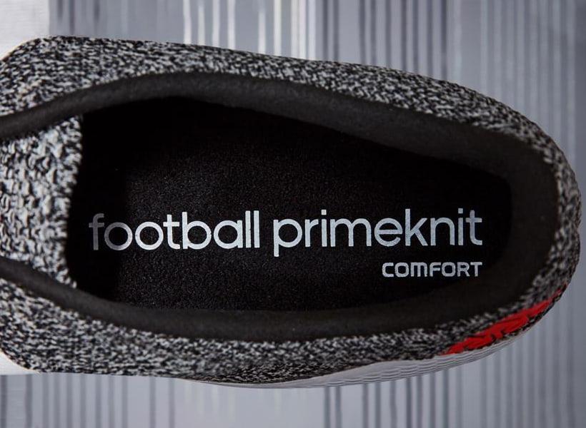 primeknit حک شده در کفش ادیداس