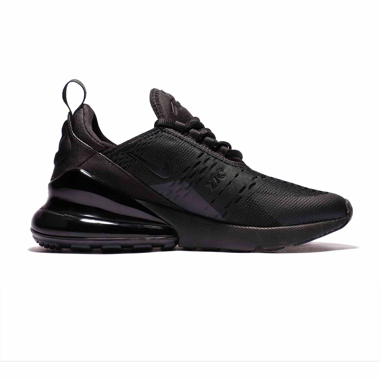 2_.کفش اسپرت و ورزشی نایک ایر مکس 270 مشکی | Nike AirMax270 BQ5776-001 | کتونی اورجینال پارچه ای مشکی