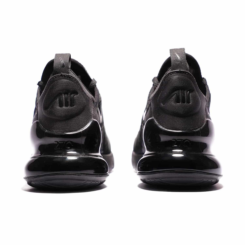 7_.کفش اسپرت و ورزشی نایک ایر مکس 270 مشکی | Nike AirMax270 BQ5776-001 | کتونی اورجینال پارچه ای مشکی