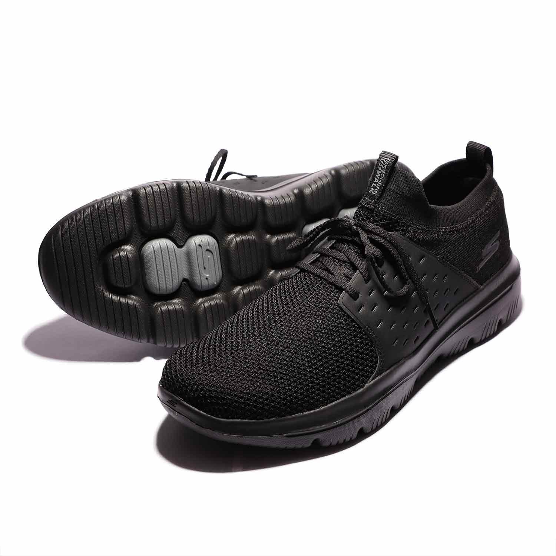 6_.کفش پیاده روی مردانه و پسرانه اسکیچرز گووالک اصل Skechers GoWalk 54726BBK مشکی