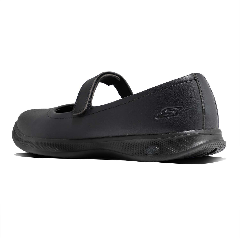 4_.کفش اسکیچرز گو استپ لایت 88888152 Skechers GoStep Lite,کفش طبی دخترانه و زنانه مشکی اسکیچرز اصلی