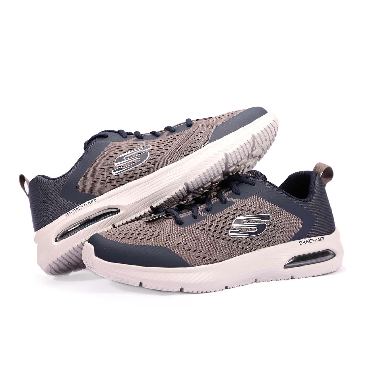 7_.کتانی مردانه و زنانه اسکیچرز اصلی داینا ایر Skechers 52559NVCC, کفش اسکچرز اصلی دخترانه و پسرانه