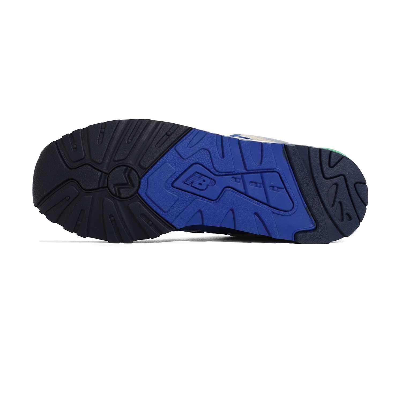 3_.نیوبالانس الیت New Balance ML999OBB | کفش دخترانه سبز آبی | کتونی پسرانه سالنی رنگی | کتانی لاغری